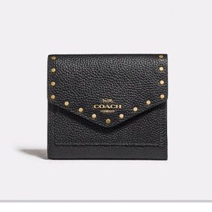 NWT COACH Wallet with Rivets